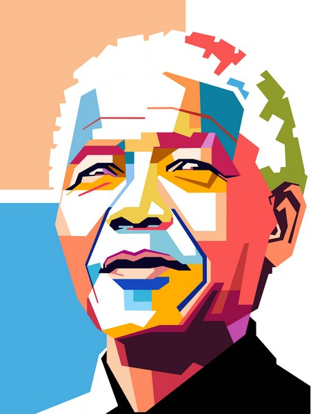 Nelson-Mandela portrait
