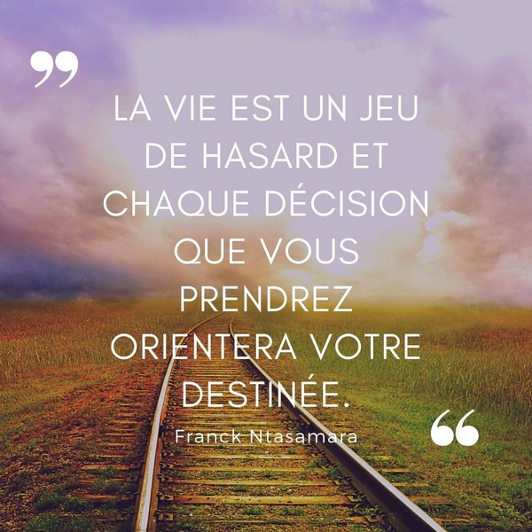 citation courte destin