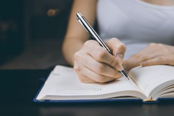 écrire ses objectifs de changement de vie