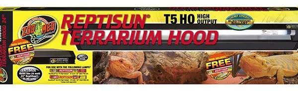 ZooMed ReptiSun T5 HO Terrarium Hood