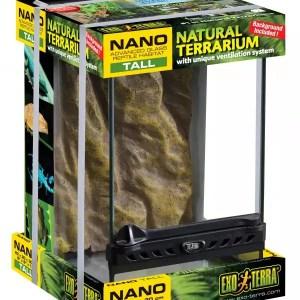 Exo Terra Terrarium Nano/Tall 20x20x30cm,PT2601