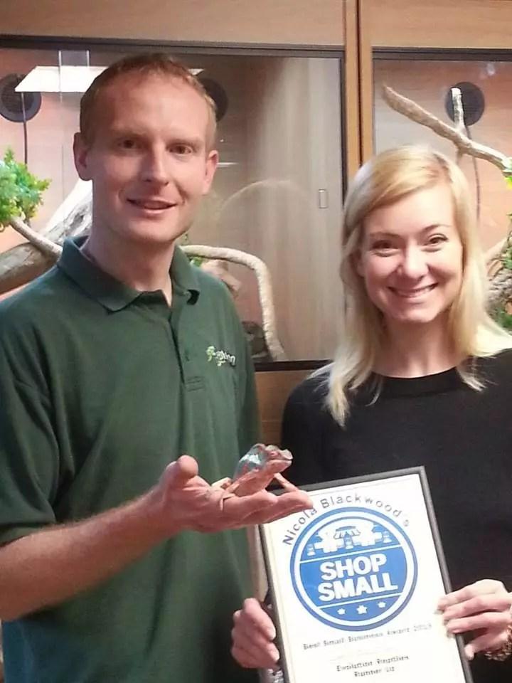 Nicola Blackwood - Small business Award 2015