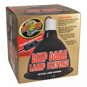 Zoo Med Deep dome lamp fitting for sale