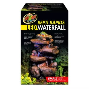 ZooMed ReptiRap.LED Waterfall Small Rock