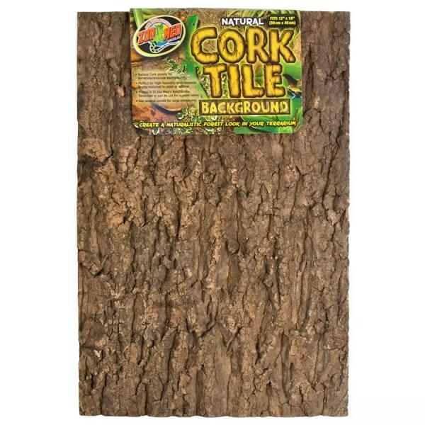ZooMed Cork Tile Background 30x45cm