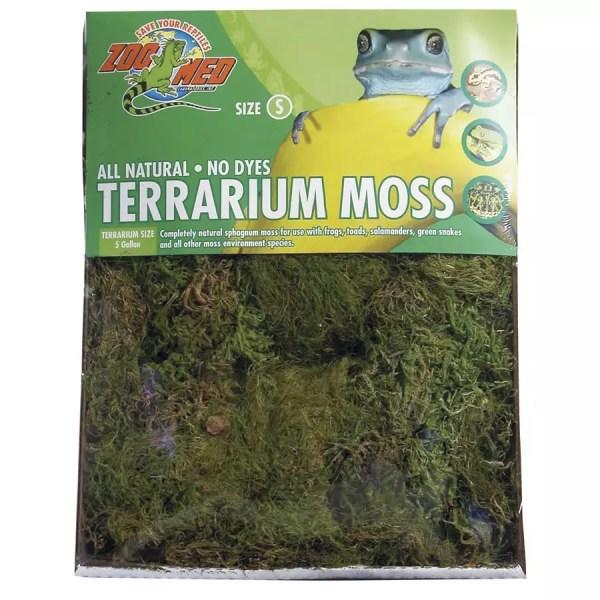 ZooMed Terrarium Moss, Small 1.64L, CF-2S