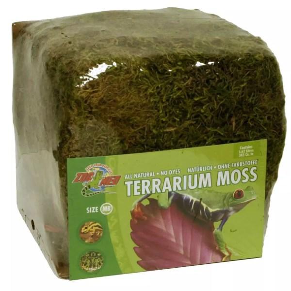 ZooMed Terrarium Moss, Mini Bale 5.6L CF-2MB