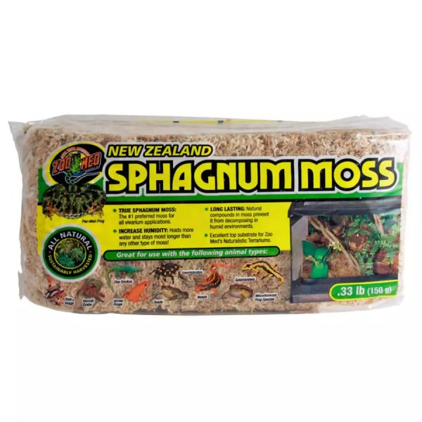 ZooMed New Zealand Sphagnum Moss 150g