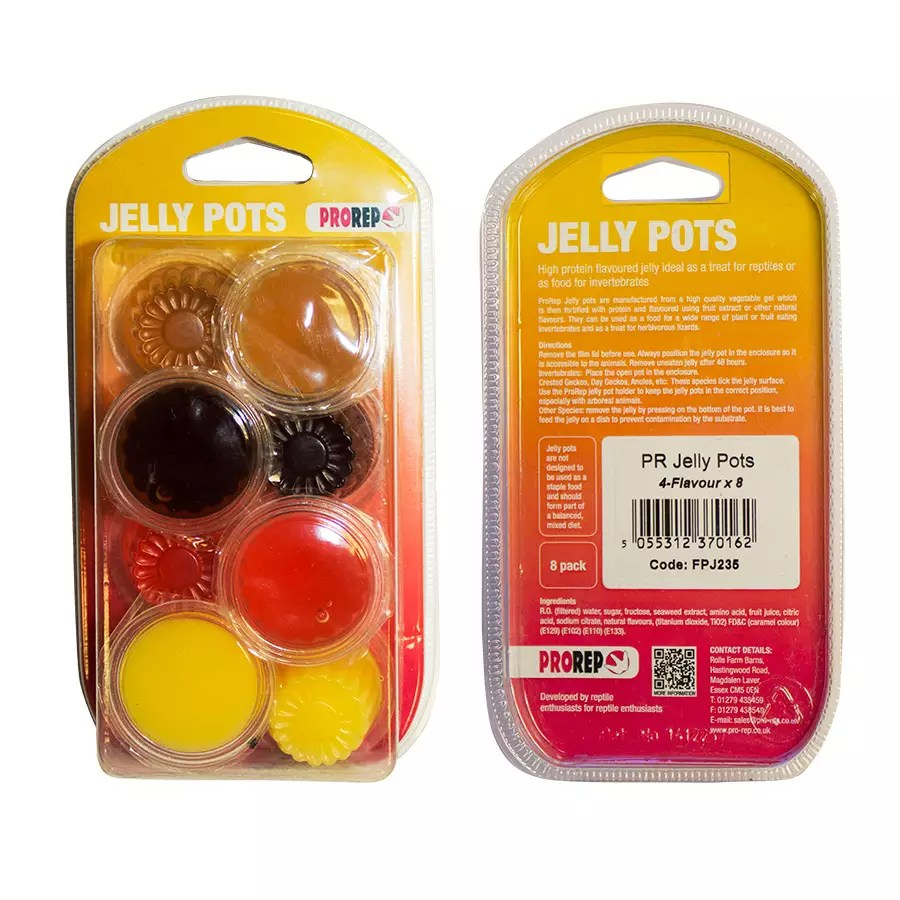 ProRep Jelly Pots, 17g Mix 4-flavours 8-pk Blister