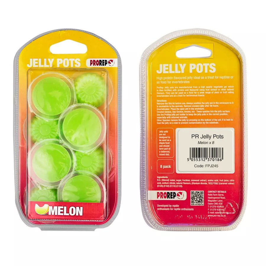 ProRep Jelly Pots, 17g Melon 8-pk Blister