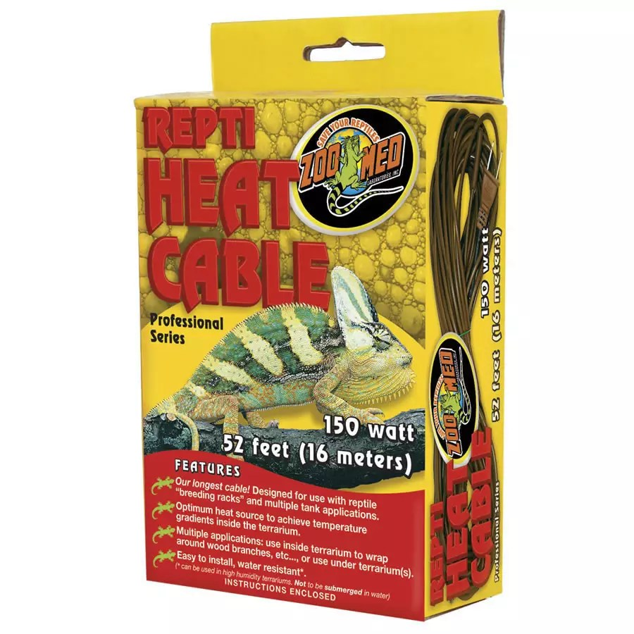 ZooMed Repti Heat Cable 150W, 16m