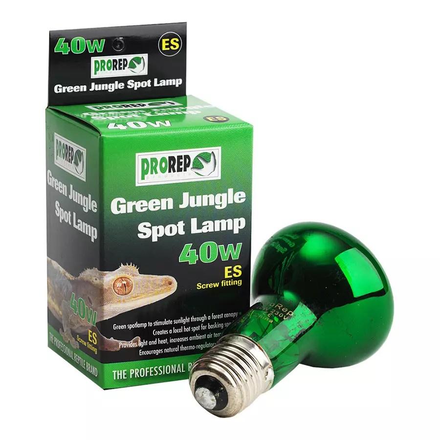 ProRep Green Jungle Spotlamp 40W ES