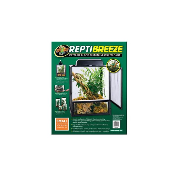 ZooMed ReptiBreeze Screen Cage, 46x46x92cm