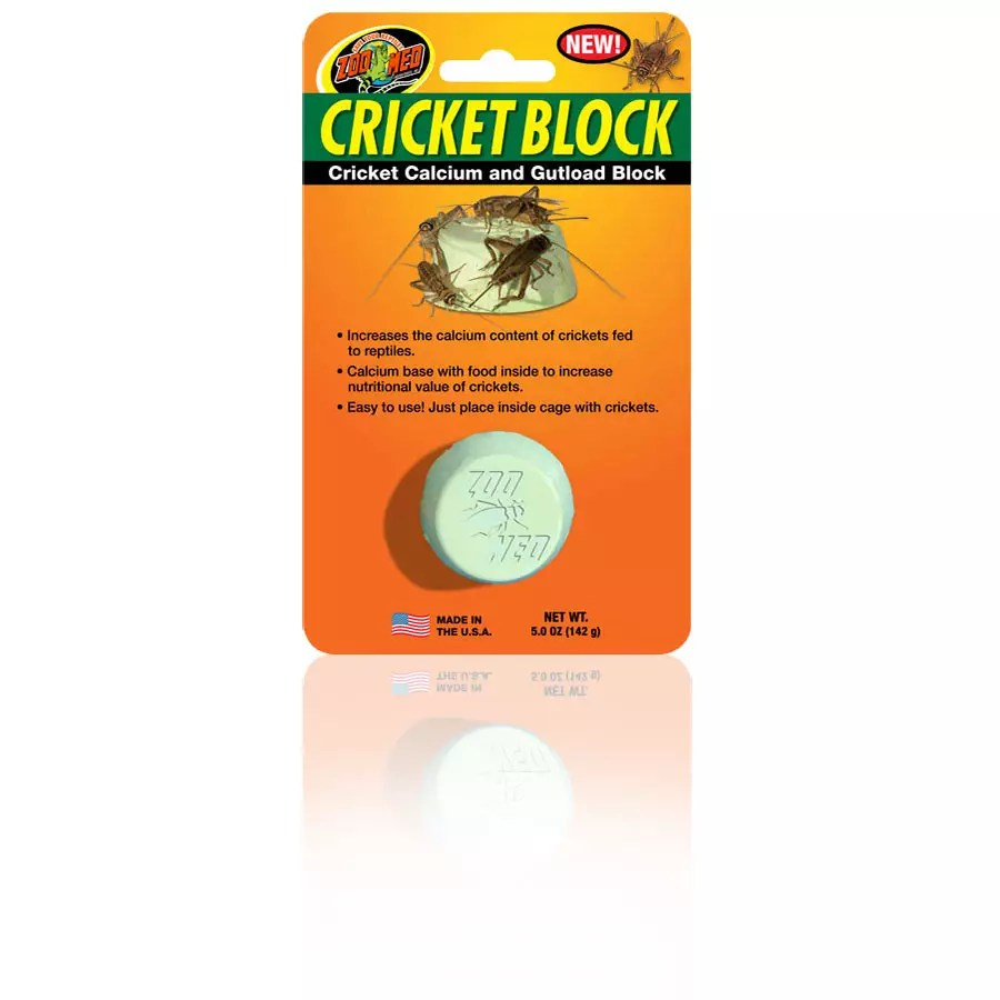 ZooMed Cricket Block: Calcium & Gutload Block