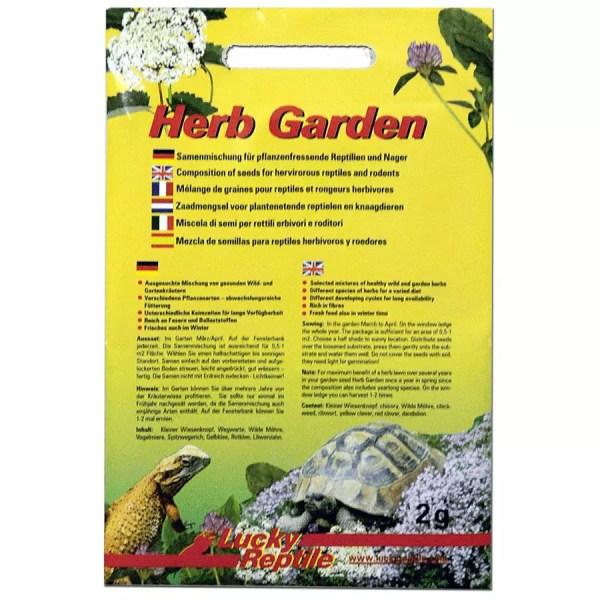 Lucky Reptile Herb Garden - Herb Seeds 2g