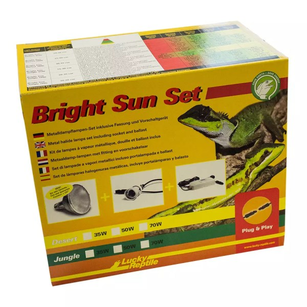 Lucky Reptile Bright Sun Evo SET Jungle 35W
