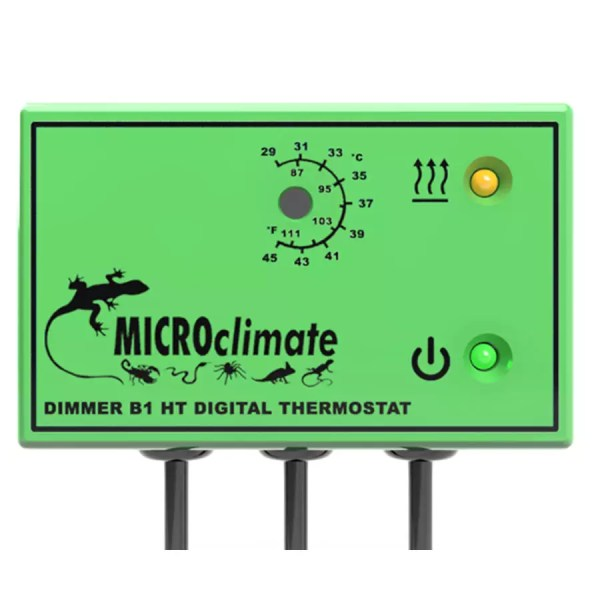 MicroClimate B1 HT Dimmer Thermostat Green