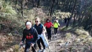 nordic walking monte carso2