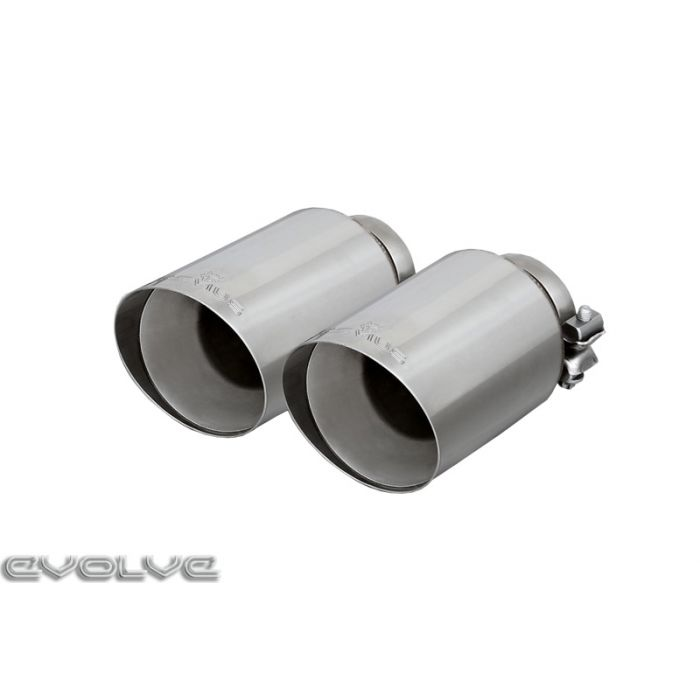 remus wolf inside rear silencer left right with integrated valves bmw 3 series f80 m3 4 series f82 m4