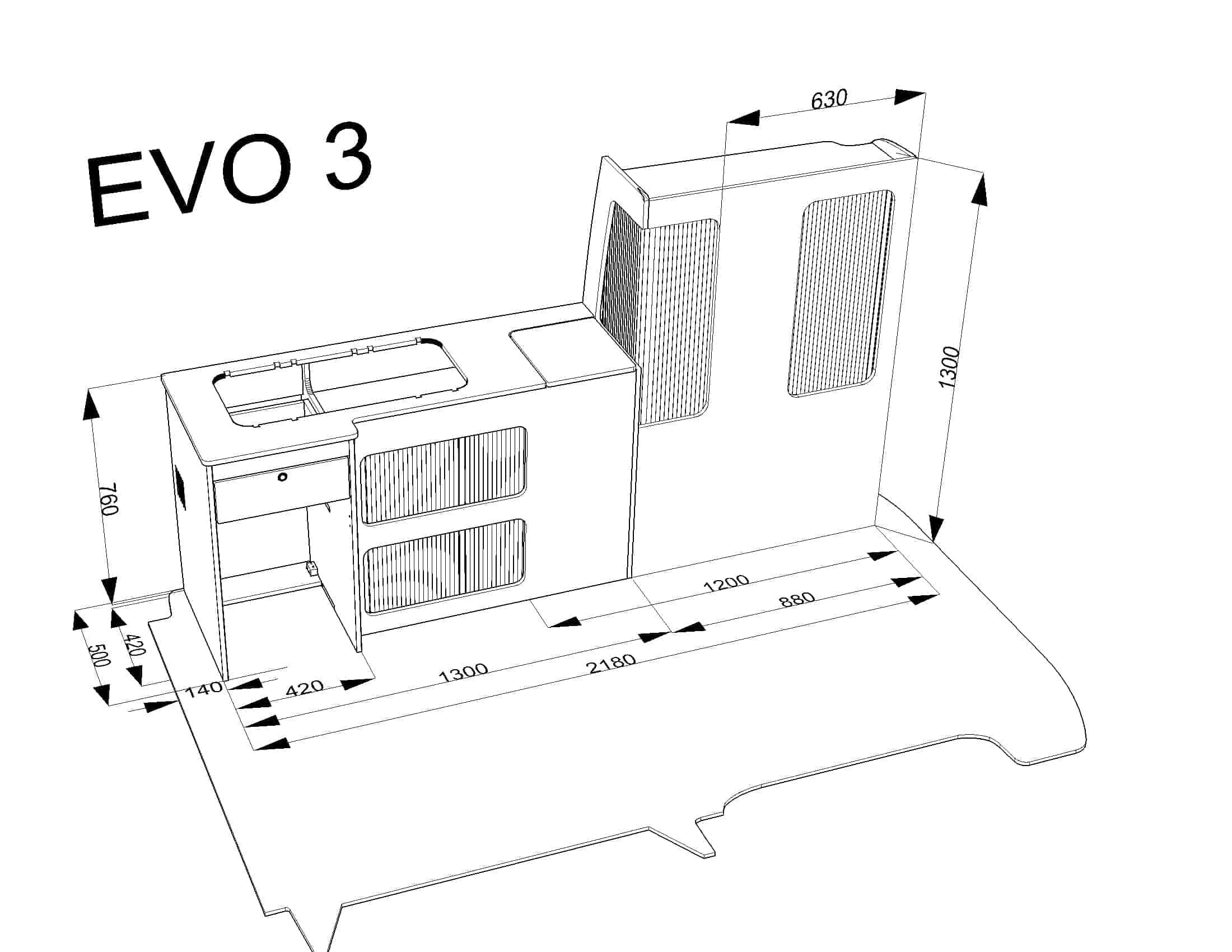 Evo 3 5 Short Wheel Base Van