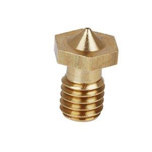 Gazechimp 3pcs 0.4mm Tête d'Impression Buse d'Extrudeur de Remplace Pour 1.75mm 3D Imprimante