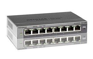 Netgear GS108E-300PES Switch Web Managed (Plus) Configurable 8 Ports
