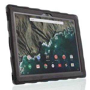 Gumdrop Cases DropTech clair pour tablette Google Pixel C robuste Coque absorbant les chocs Coque Noir/noir Ga3a00074-a14