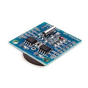 Ferrell Tiny RTC I2C DS1307 AT24 C32 Horloge programmable en Temps réel pour AVR PIC 51 Arm avec Pile