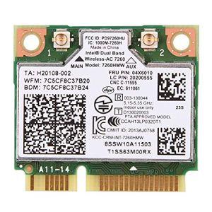 Richer-R Dual Band WiFi Bluetooth 4.0 Carte Wlan 04X6010 pour Lenovo Thinkpad Intel 7260AC 7260HMW