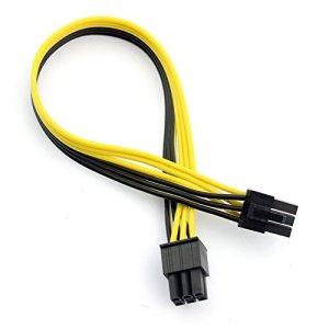 Xt-xinte PCI-E PCIe PCI-Express 6P mâle vers 6pin Male carte graphique vidéo DIY câble d'alimentation BTC Extended mineur Minière de fils 18AWG