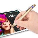 Studyset Digital stylos Stylet à Pointe Fine Stylet Actif avec Clip de Fixation Compatible avec la Plupart des Appareil à écran Tactile