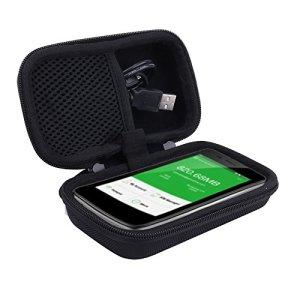 Aenllosi Voyage Étui Rigide Housse pour GlocalMe Routeur Mobile 4G LTE Wi-FI Hotspot sans Fil pour G2 G3