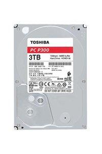 TOSHIBA P300 disque dur interne 3 To – 3,5″ (pouces) – disque dur SATA (HDD) – 7200 tours par minute (tpm) – 6 Go/s – pour ordinateurs de jeu, PCs de bureau, stations de travail, etc.