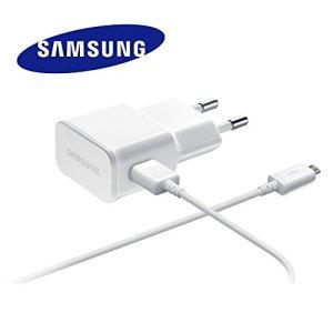 Chargeur Original Samsung 2A ETA-U90EWE Blanc compatible Samsung SM-T110 Galaxy Tab 3 Lite