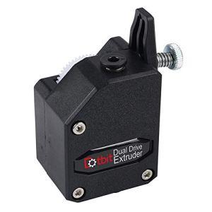 Extrudeur BMG Trianglelab MK8 Cloné Btech Dual Stick Extruder pour Wanhao D9 Creality C R-10 Ender-3 Anet E10 free size Noir