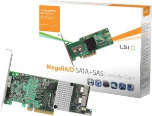 MegaRAID LSI SAS 9270-8i KIT Carte SATA + SAS 6 Go/s 8 ports DDR3 PCI-Express 3.0 1 Go