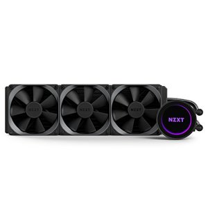 NZXT – Kraken X72 – RL-KRX72-01 – Watercooling tout-en-un (AIO) – 280mm – RGB Effet miroir infini, Compatible Intel/AMD/AM4/TR4