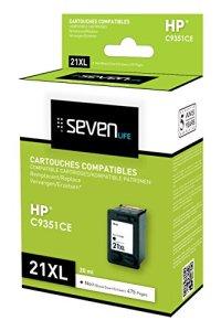 Seven Life Compatible HP21 XL Cartouche
