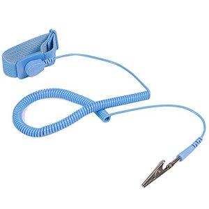 StarTech.com – SWS100 – Bracelet anti-statique avec câble de mise à la terre et protection contre surtensions / ESD (DES)