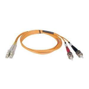 Tripp Lite Multimode Fiber Optics 10 m (33-ft. Duplex MMF 50/125 Patch Cable ST/LC