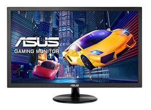 ASUS VP248H écran plat de PC 61 cm (24″) Full HD LED Noir – Écrans plats de PC (61 cm (24″), 1920 x 1080 pixels, Full HD, LED, 1 ms, Noir)