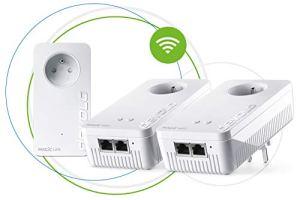 devolo Magic 2 WiFi: Multiroom Kit CPL le plus rapide au monde pour un WiFi plus fiable à travers murs et plafonds via le câble électrique, interconnexion Mesh intelligente, technologie G.hn