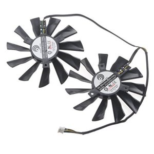 iHaospace PLD10010S12HH 95mm Graphics Card GPU Fan for MSI GTX780Ti GTX760 GTX750Ti R9 270/280/290 R7-260X R9-270X R9-280X R9-290X Video Card