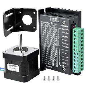 Nema 17 Conducteur de Moteur Pas à Pas,Bipolaire pour Imprimante 3D / CNC LD09