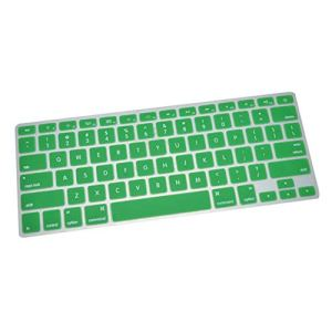 0Miaxudh Couverture de Clavier, Film de Peau de Protecteur d'ordinateur Portable de PC de Silicone pour MacBook Air Pro Retina Green for MacBook Air 13/Retina13/15