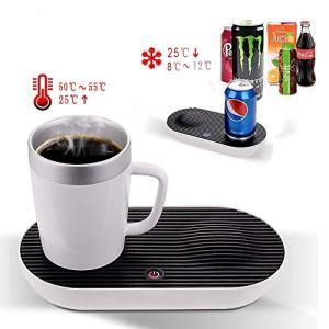 AMZ BCS Chauffage et climatisation Tasse de Bureau Intelligente Tasse de café 2 en 1 Rapide et Intelligente pour Le Bureau à Domicile et Les Soins de santé personnels