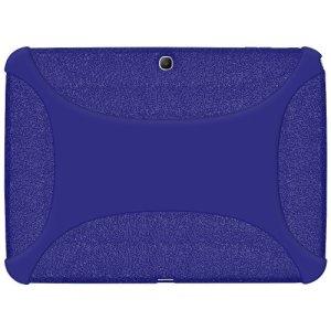 Amzer Jelly Skin Coque silicone pour Samsung Galaxy Tab 3 10″ P5200/P5210/P5220 Bleu