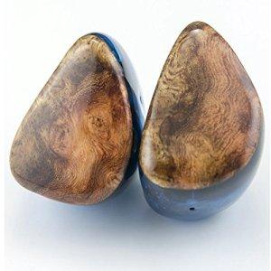 FHCG Écouteurs Intra-Auriculaires 8BA + 2DD dans L'oreille Écouteur Unité DIY HiFi Custom Made Surveillance Écouteur avec MMCX ou Interface 2Pin – Wooden
