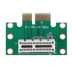 leanBonnie Carte de Montage de Carte PCI-E PCI Express 1X Haute qualité à 90 degrés pour châssis de Serveur 1U à Chaud