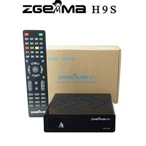 Récepteur Satellite Zgemma H9S 4K UHD DVB S2X
